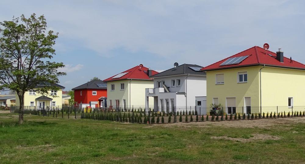 Referenz Eigenheimbau mit der BK Bau GmbH Neuzelle