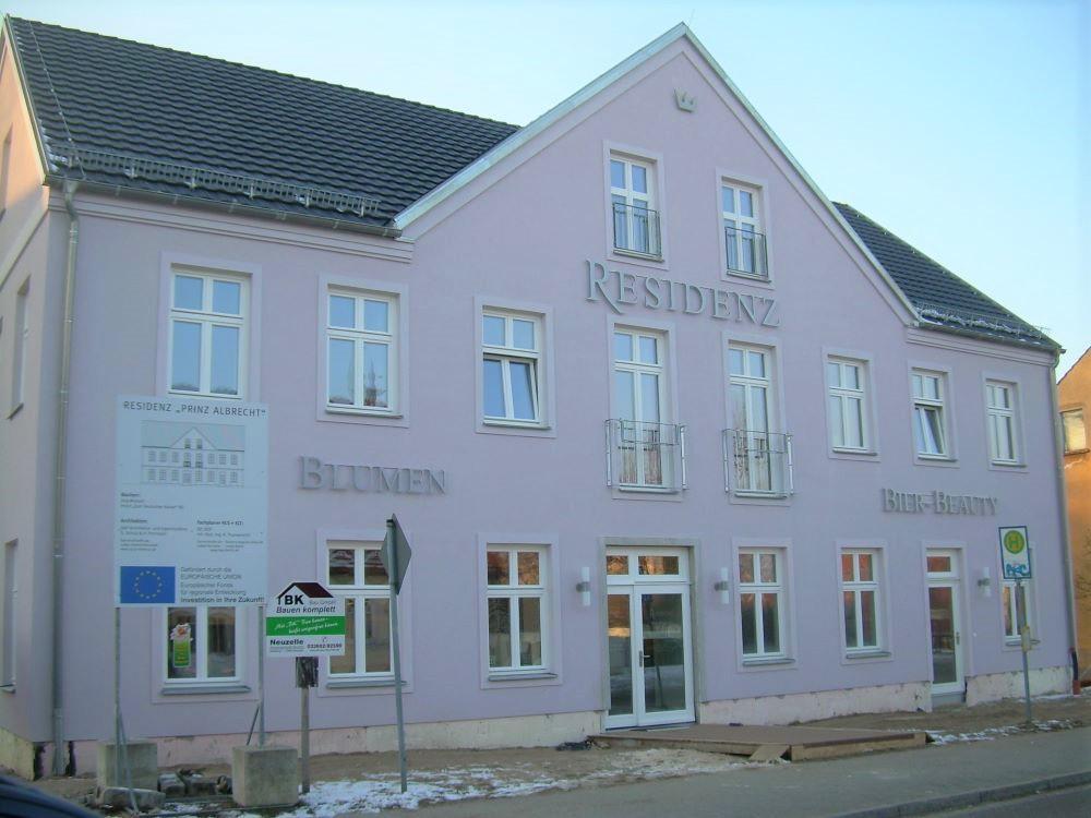 """Neubau Residenz – Hotel """"Zum Deutschen Kaiser in Neuzelle"""