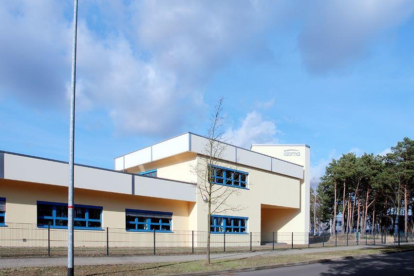 Firmengebäude Idoma Zahntechnik