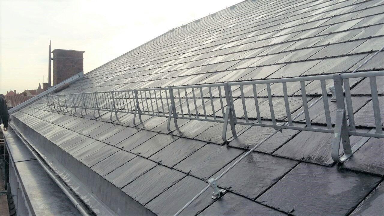 Dach-und Fassadensanierung Kath. Kirche Fürstenberg
