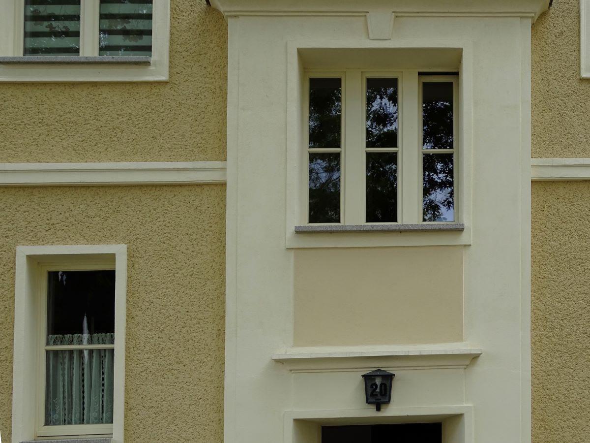 Saniertes Mehrfamilienwohnhaus im historischen Stadtkern von Eisenhüttenstadt