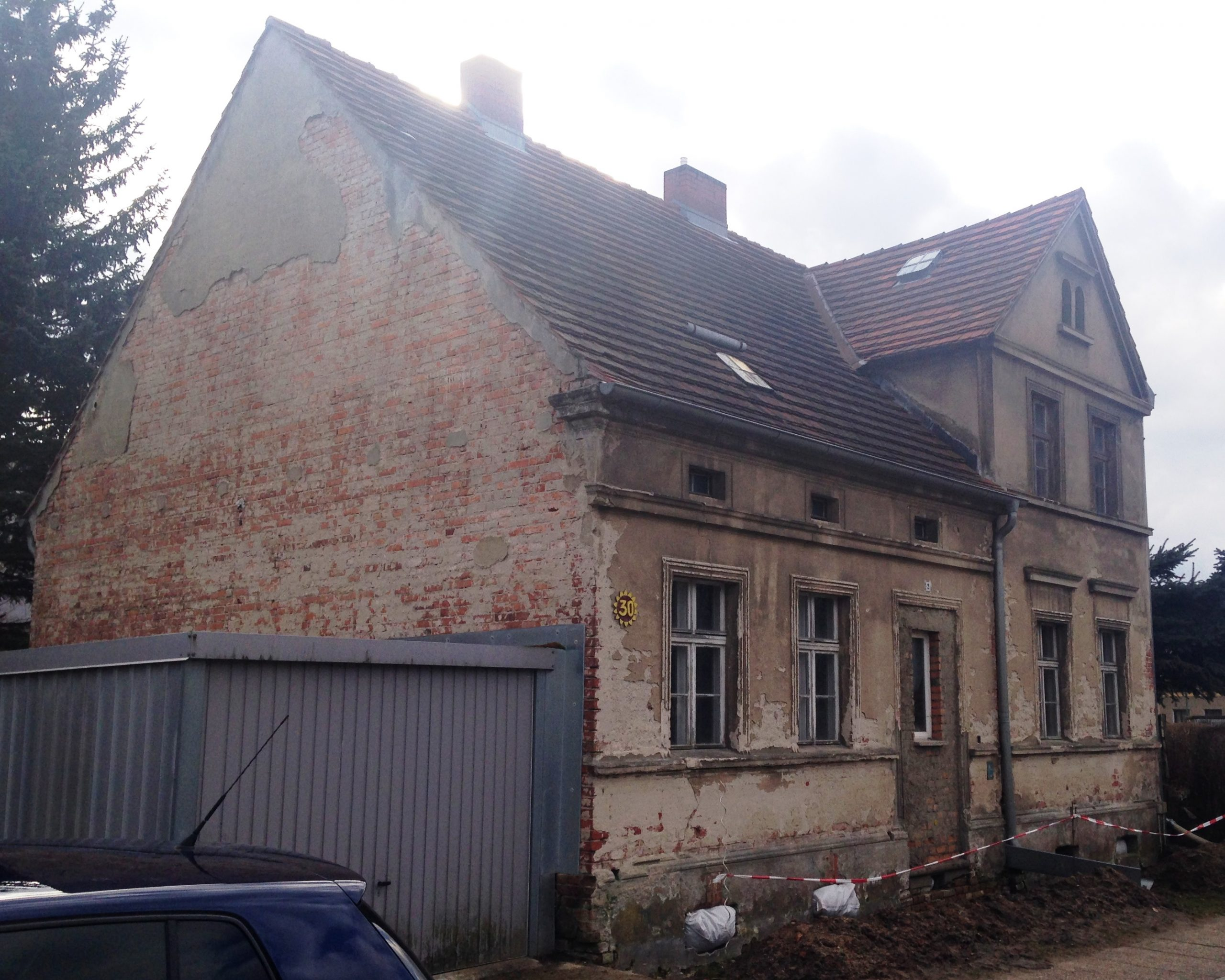 Saniertes Wohnhaus in Neuzelle